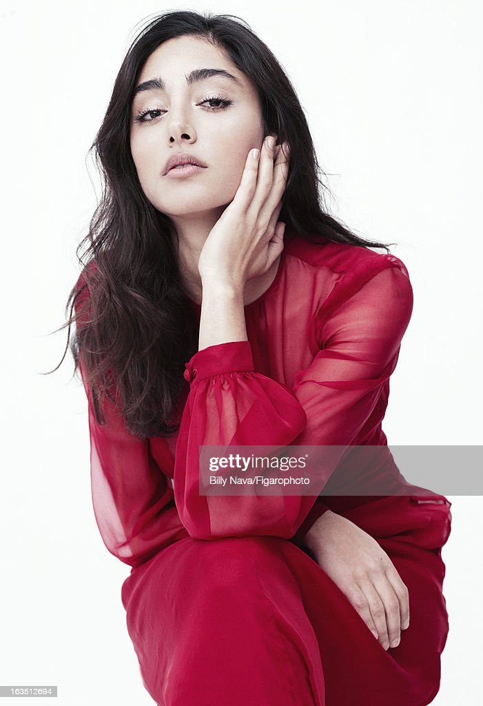 105844-006. Actress <a gi-track='captionPersonalityLinkClicked' href=/galleries/search?phrase=Golshifteh+Farahani&family=editorial&specificpeople=5535488 ng-click='$event.stopPropagation()'>Golshifteh Farahani</a> is photographed for Madame Figaro on May 12, 2011 in Paris, France. Dress (Valentino). Make-up by Sisley.