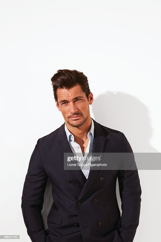 David Gandy, Madame Figaro, April 5, 2013