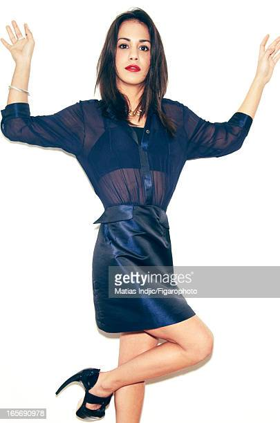 Figaro ID 105980009 Actress Alice Belaidi is photographed for Madame Figaro on February 8 2013 in Paris France CREDIT MUST READ Matias...
