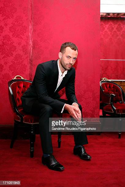 Figaro ID 106253011 Dancer Benjamin Millepied is photographed for Madame Figaro on May 14 2013 in Paris France CREDIT MUST READ Sandrine...
