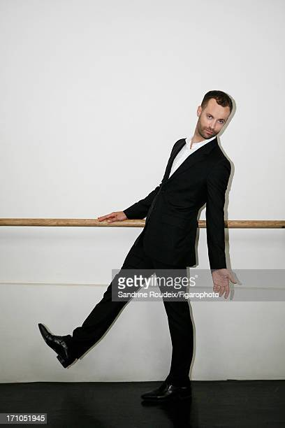 Figaro ID 106253012 Dancer Benjamin Millepied is photographed for Madame Figaro on May 14 2013 in Paris France CREDIT MUST READ Sandrine...