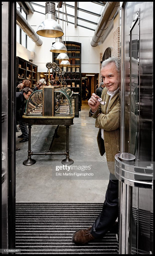 106291-028. Alain Ducasse is photographed for Le Figaro Magazine on March 5, 2013 in Paris, France.