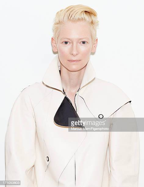 Figaro ID 106430005 Actress Tilda Swinton is photographed for Madame Figaro on May 18 2013 at the Cannes Film Festival in Cannes France Dress...