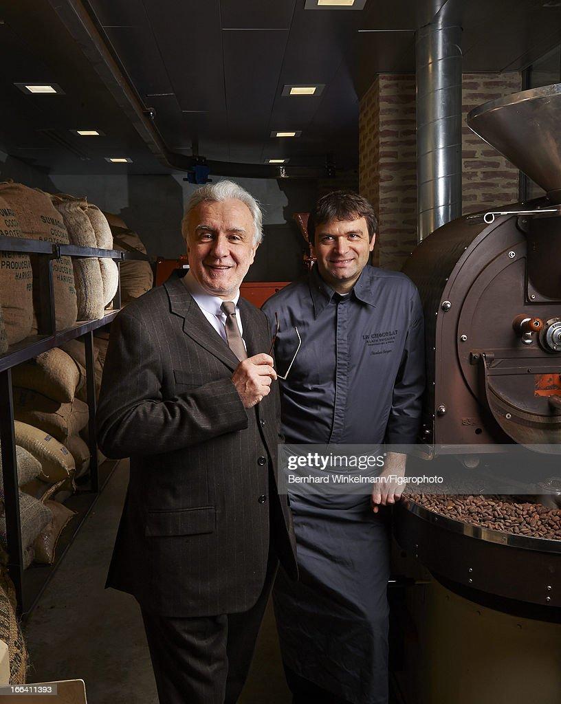 Alain Ducasse and Nicolas Berger, Madame Figaro, April 5, 2013