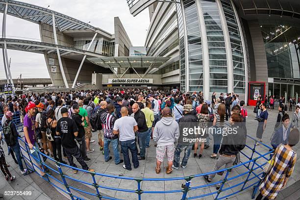 MMA Fight Night at Saitama Super Arena, Saitama, Japan
