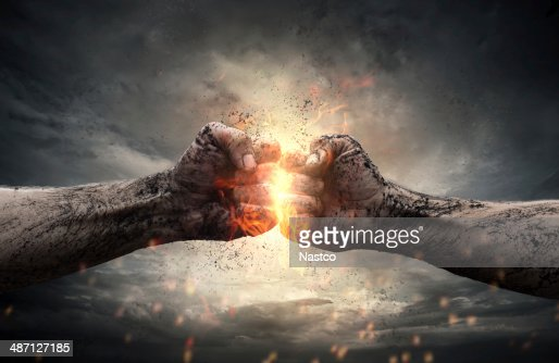 Fight : Stock Photo