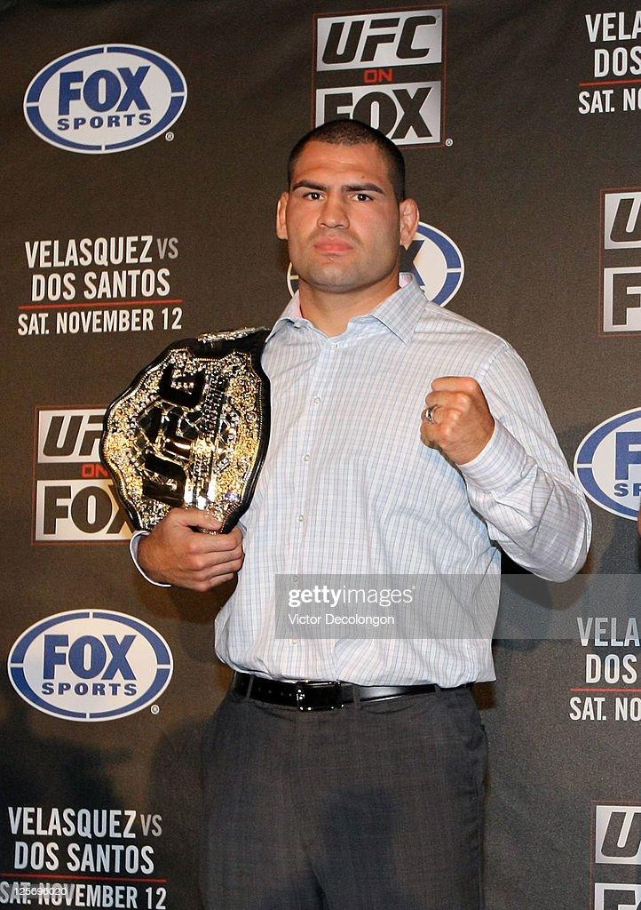 UFC on Fox: Velasquez v Dos Santos - Press Conference