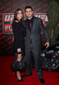 Fighter Carlos Condit arrives at the UFC on FOX live Heavyweight Championship at Honda Center on November 12 2011 in Anaheim California