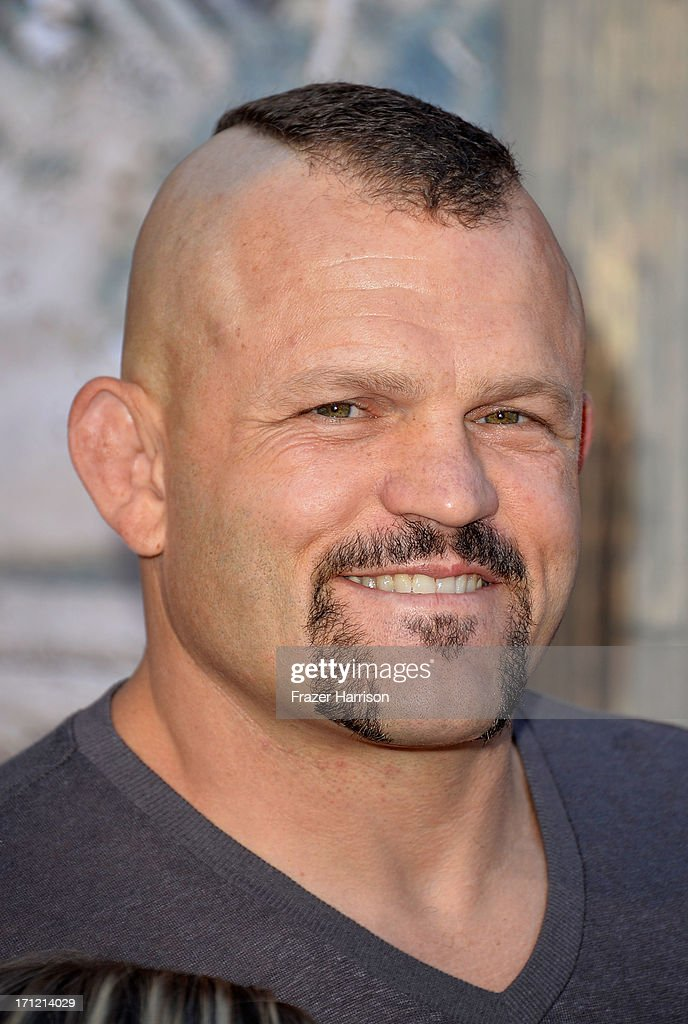 Fighter Chuck Liddell arrives at the premiere of Walt Disney Pictures' 'The Lone Ranger' at Disney California Adventure Park on June 22, 2013 in Anaheim, California.