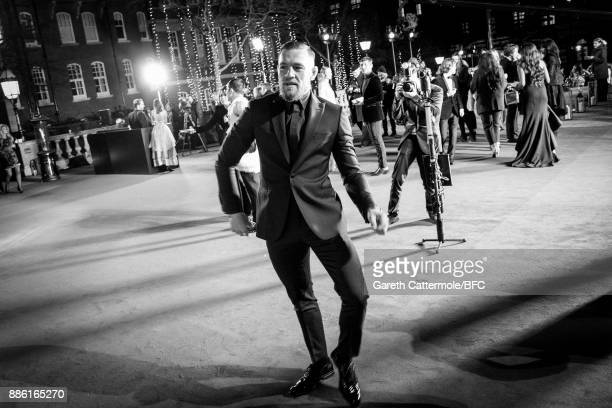 MMA Fighter Conor McGregor walks the red carpet during The Fashion Awards 2017 in partnership with Swarovski at Royal Albert Hall on December 4 2017...