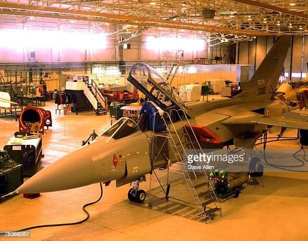 Fighter jet assembly