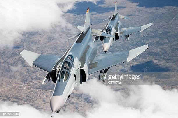 Fighter Jets in Flight
