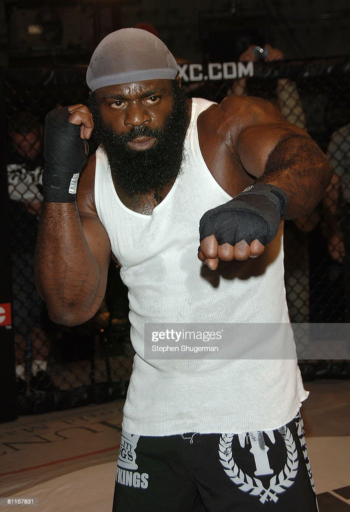 MMA fighter Kimbo Slice attends CBS's 'Elite XC Saturday Night Fights' Press Conference at CBS Radford Studios on May 19, 2008 in Studio City, California.