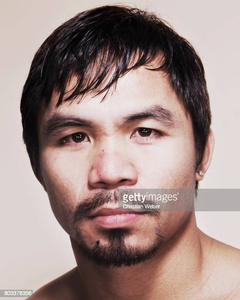 Fighter Manny Pacquiao photographed for ESPN The Magazine on September 28 in New York City