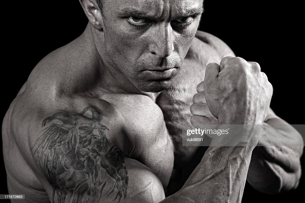 Fighter : Stock Photo