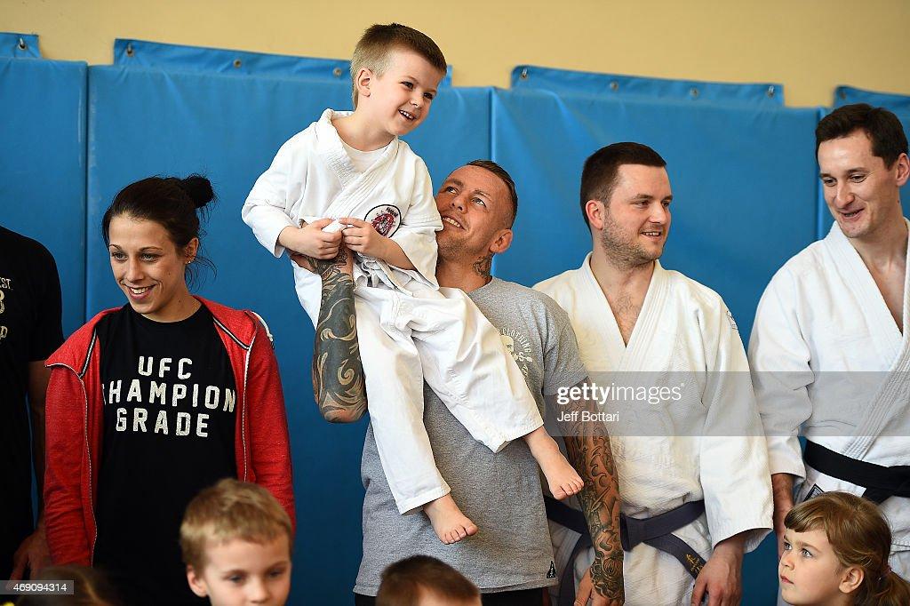 UFC Stars Inspire MMA Dreams At Krakow Jiu-Jitsu School