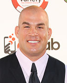 Fighter Tito Ortiz attends the 5th Annual Variety Texas Hold 'Em poker tournament benefiting The Children's Charity Of SoCal at Paramount Studios on...
