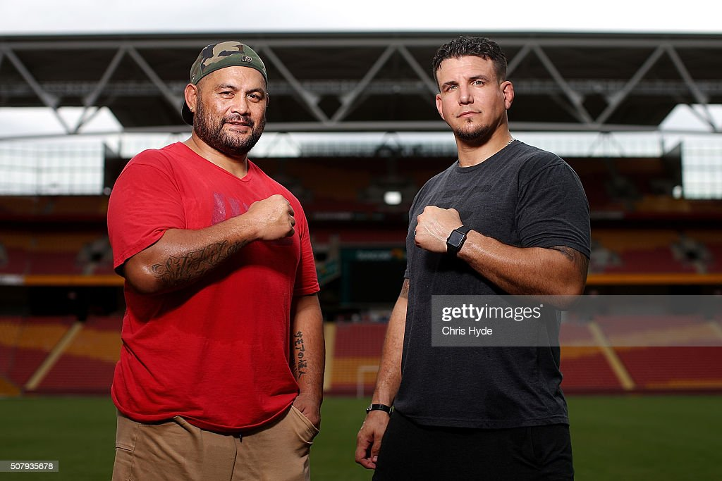 UFC Stars Meet Brisbane Roar Players