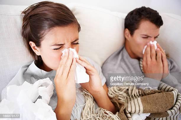 Lutte contre la fièvre ensemble