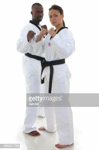 Fighting pair