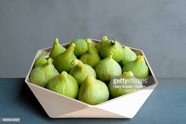 Figs In Bowl On Table