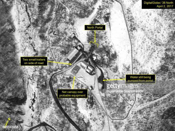 KOREA APRIL 2 2017 Figure 1 Activity continues at the North Portal