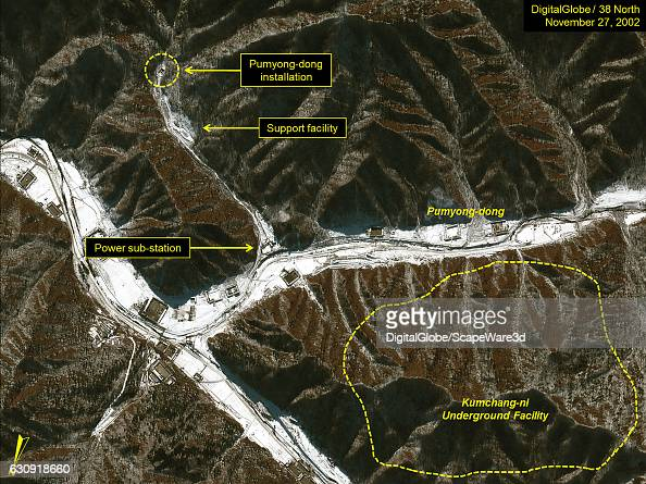 Figure 1 DigitalGlobe imagery of an overview of installation at Pumyongdong on November 27 2002 Mandatory credit for all images DigitalGlobe/38 North...