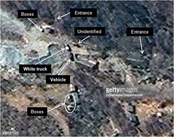 Figure 1 is DigitalGlobe Imagery of North Koreas Punggyeri Nuclear Test Site from May 9th showing activity at the South Portal tunnel entrances...