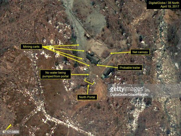 KOREA APRIL 19 2017 Figure 1 Probable trailers observed near the North Portal