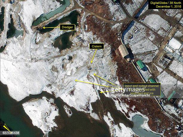Figure 1A Channel for 5 MWe reactors cooling cistern cleared of ice and dredged in December Date December 1 2016 Mandatory credit for all images...