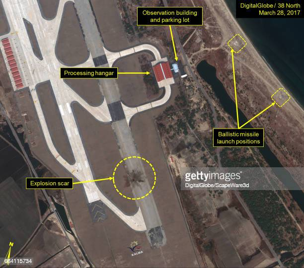 KOREA MARCH 28 2017 Figure 1B The Kalma International Airport after the reported failed missile test