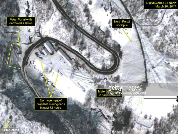 KOREA MARCH 28 2017 Figure 2 Material dumped at the North Portal tailings pile