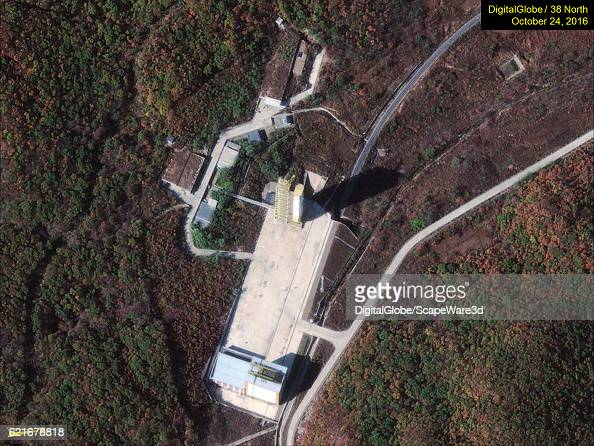 Figure 2 No activity seen at the Sohae launch pad Date October 24 2016