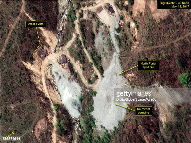 KOREA MAY 18 2017 Figure 2 No evidence of recent dumping on the North Portal spoil pile