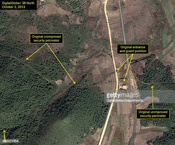 Figure 2A Upgraded Security at North Koreas Sohae Satellite Launching Station published on 38 North on August 25 2016 Upgrades to outer security...