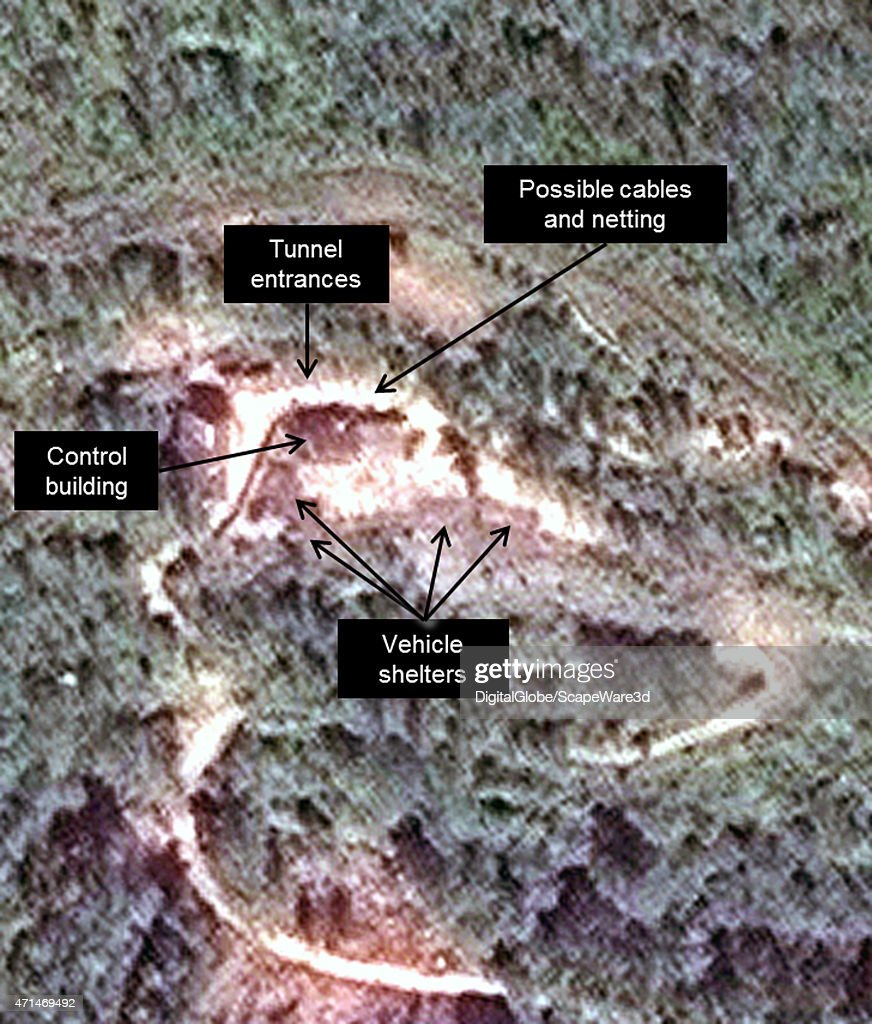Figure 2B DigitalGlobe imagery of the West Portal of the Punngye Nuclear Facility in June 2010 Published on 38 North