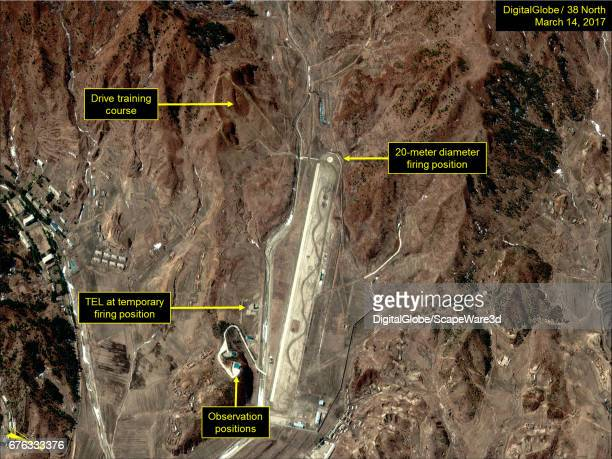 Figure 3 The Ihari Driver Training and Test Facility north of Kusong Date March 14 2017 Mandatory credit for all images DigitalGlobe/38 North via...