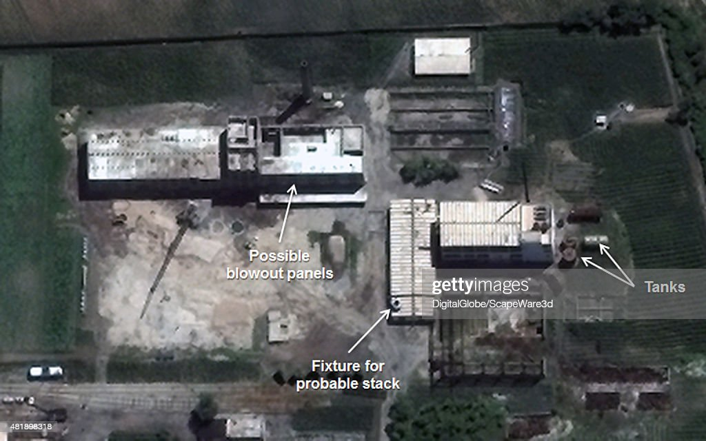 Figure 4 Construction at the Uranium Enrichment Facility Date July 2 2015 Yongbyon Nuclear Scientific Research Center Mandatory credit Image © 2015...