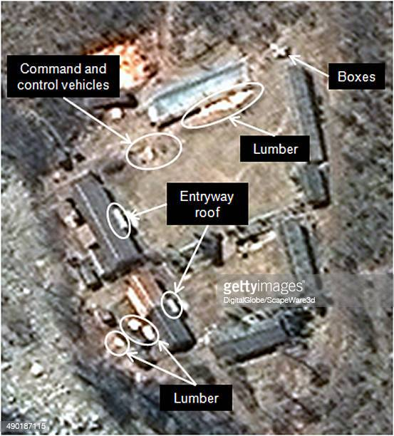 Figure 4 is DigitalGlobe Imagery of North Koreas Punggyeri Nuclear Test Site from May 9th showing continued activity at the Main Support Area...