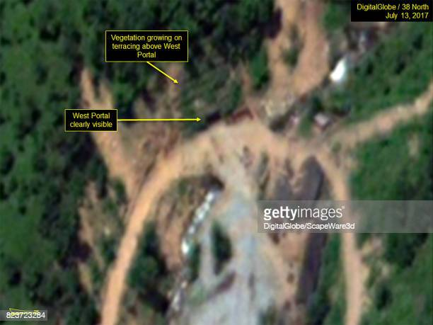 KOREA JULY 13 2017 Figure 4 No activity observed at the West Portal