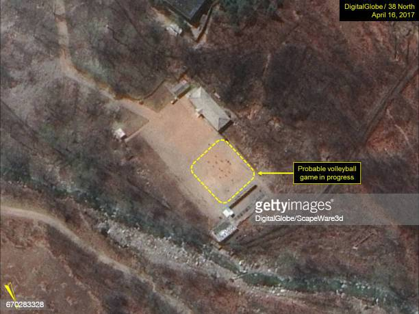 KOREA APRIL 16 2017 Figure 4 Probable volleyball game seen at the command center support area