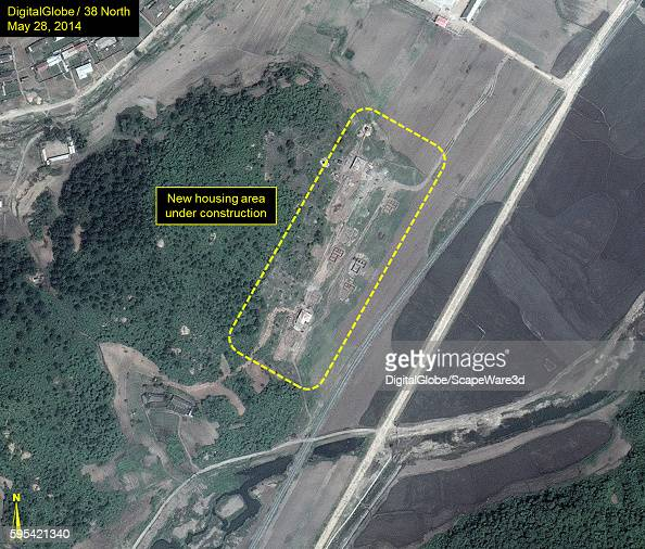 Figure 4A Upgraded Security at North Koreas Sohae Satellite Launching Station published on 38 North on August 25 2016 Housing area within the outer...