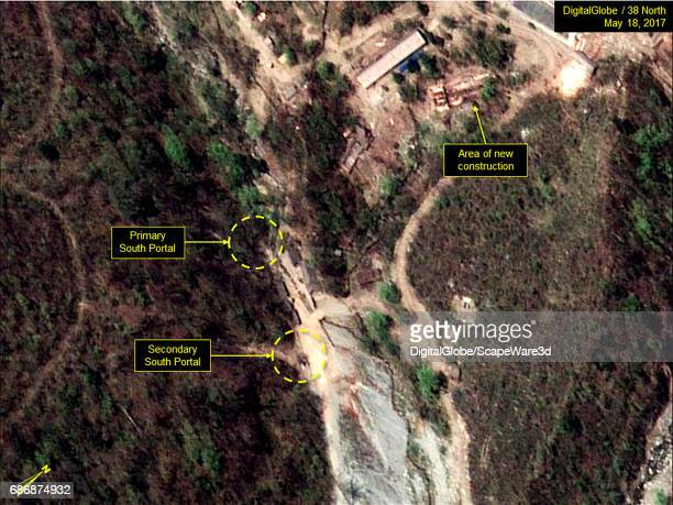 KOREA MAY 18 2017 Figure 5 Area of new construction relative to the South Portal