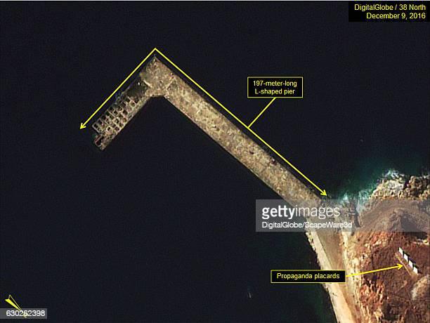 Figure 6 Lshaped pier still under construction Date December 9 2016 Mandatory credit for all images DigitalGlobe/38 North via Getty Images