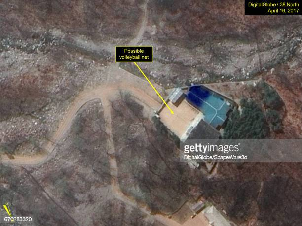 KOREA APRIL 16 2017 Figure 6 Possible volleyball net seen in the command center area