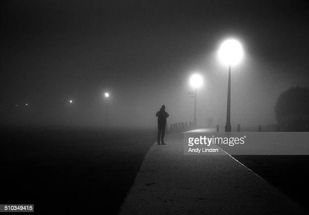 A Figure In Fog