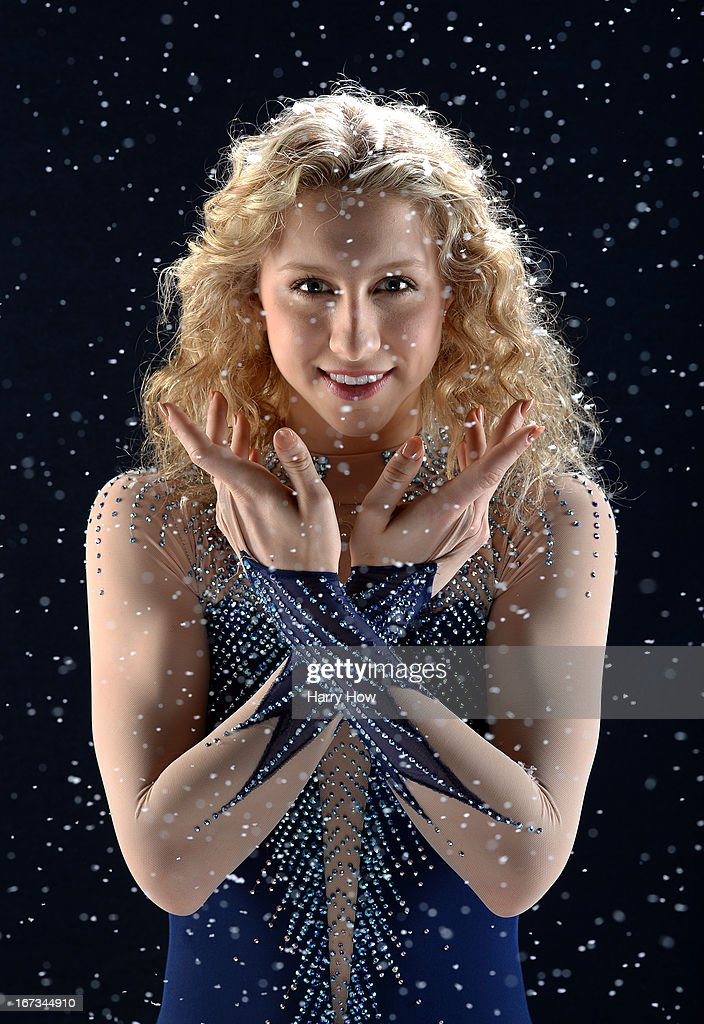 Figure skater Agnes Zawadzki poses for a portrait during the USOC Portrait Shoot on April 24, 2013 in West Hollywood, California.