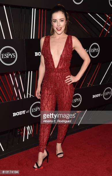Figure Skater Ashley Wagner attends the BODY at The EPYS PreParty at Avalon Hollywood on July 11 2017 in Los Angeles California