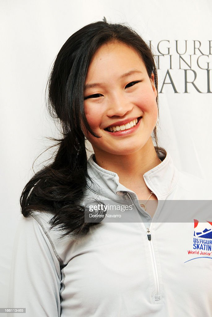 Figure skater Christina Gao attends the 2013 Skating with the Stars Benefit Gala at Trump Rink at Central Park on April 8, 2013 in New York City.
