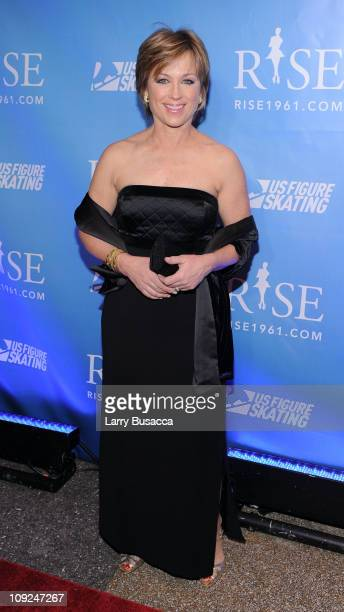 Figure Skater Dorothy Hamill attends the New York premiere Of 'RISE' at Best Buy Theater on February 17 2011 in New York City